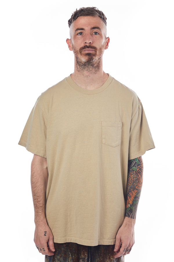 John Elliott Lucky Pocket Tee 'Ceramic'