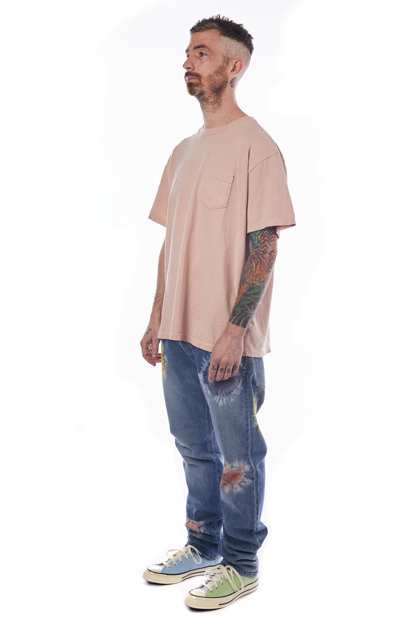 John Elliott Lucky Pocket Tee 'Twilight'