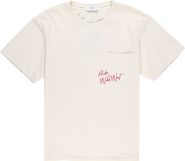 Rhude Wild West Pocket Tee [White]