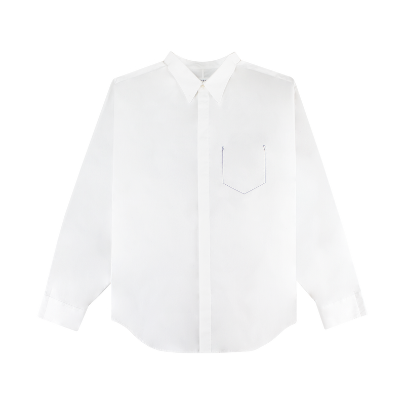 Maison Margiela Stitched Pocket Shirt [White]