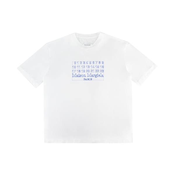 Maison Margiela Clipping Path T-Shirt [White/Blue]