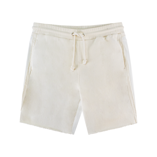 Maison Margiela Japanese Fleece Shorts [Ivory]