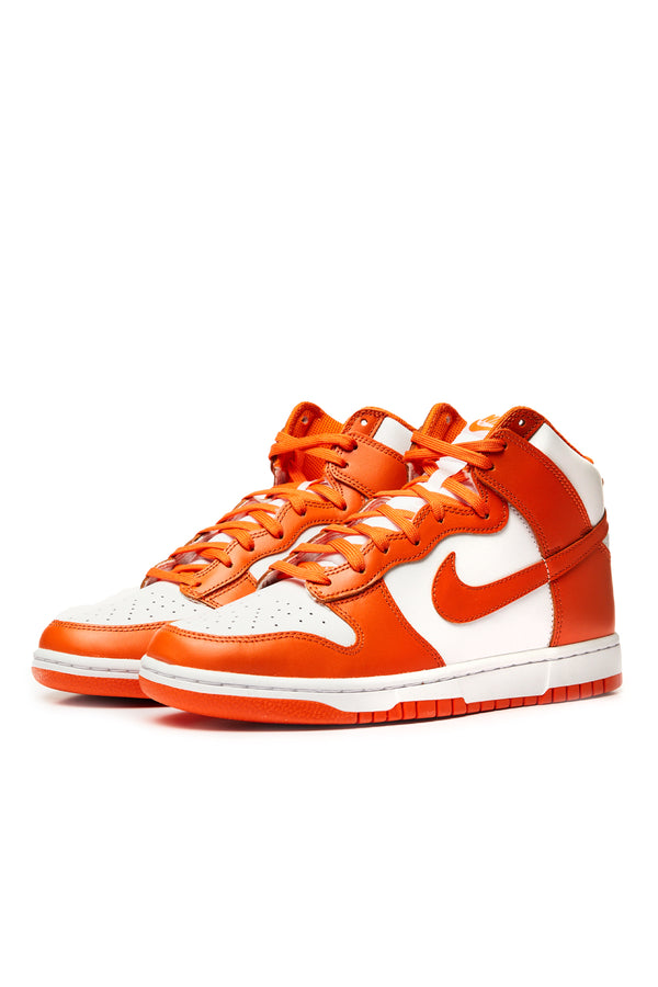 Nike Dunk Hi Retro 'White/Orange Blaze'