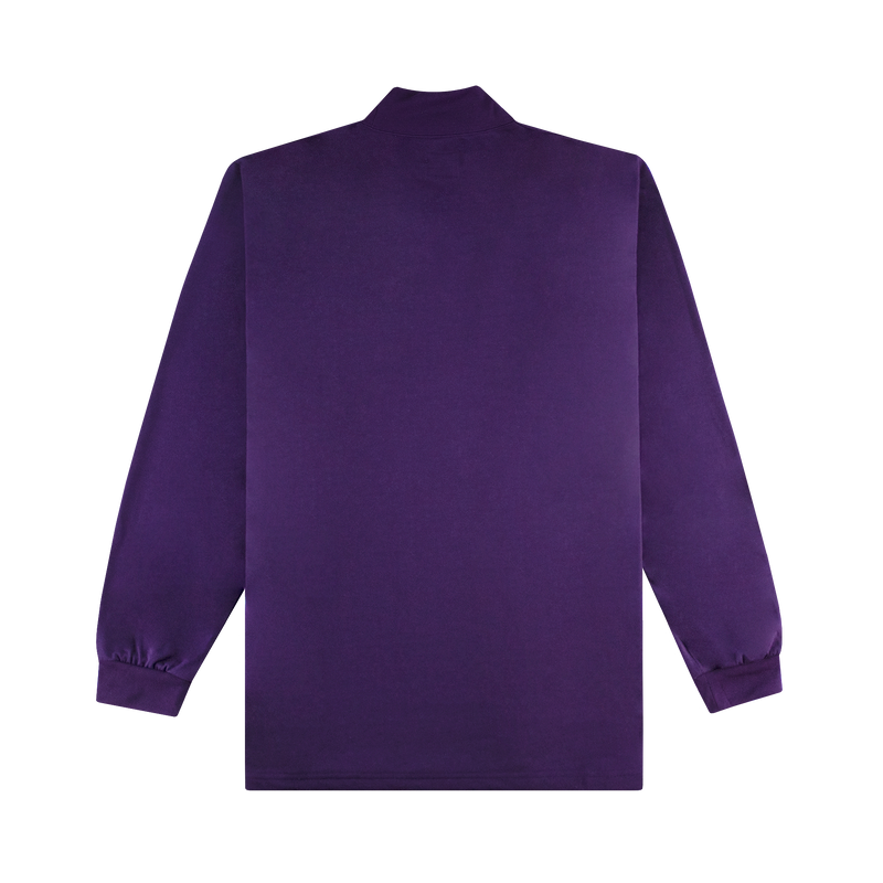 Needles L/S Mock Neck Tee [Eggplant]