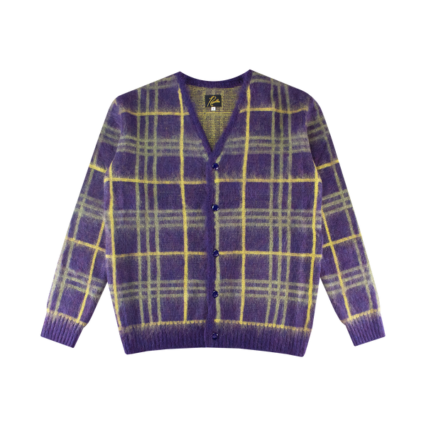 Needles Mohair Cardigan 'Plum'