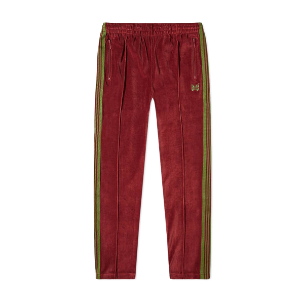 Needles Narrow Track Pant 'Bordeaux'