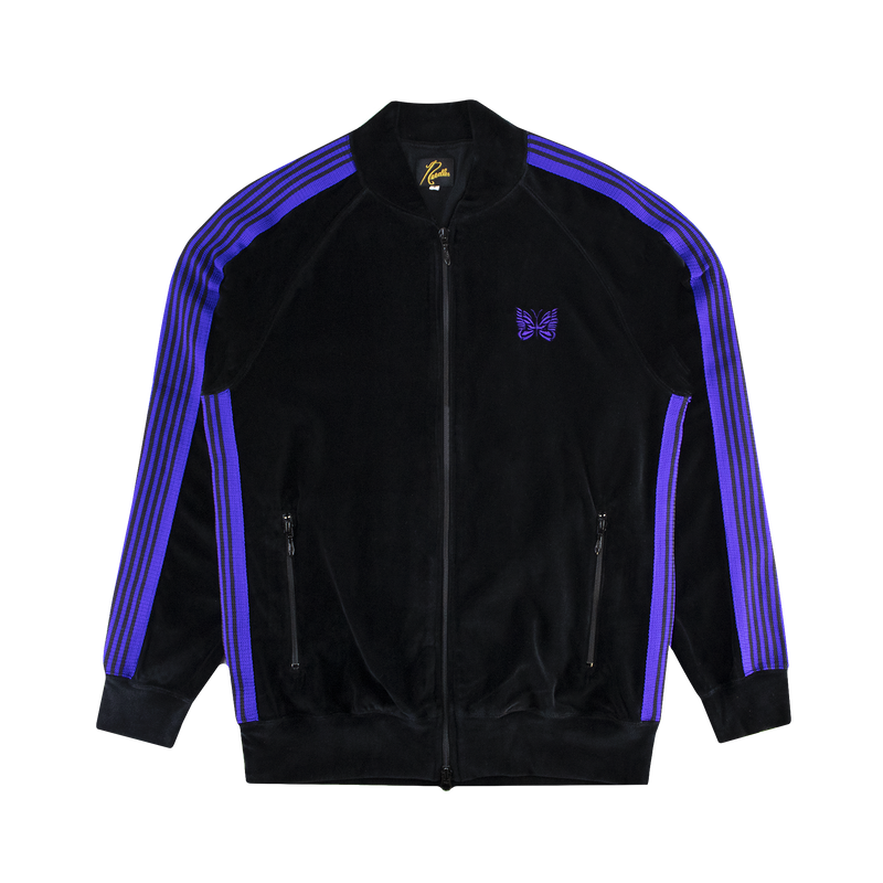 Needles Rib Collar Track Jacket [Black]