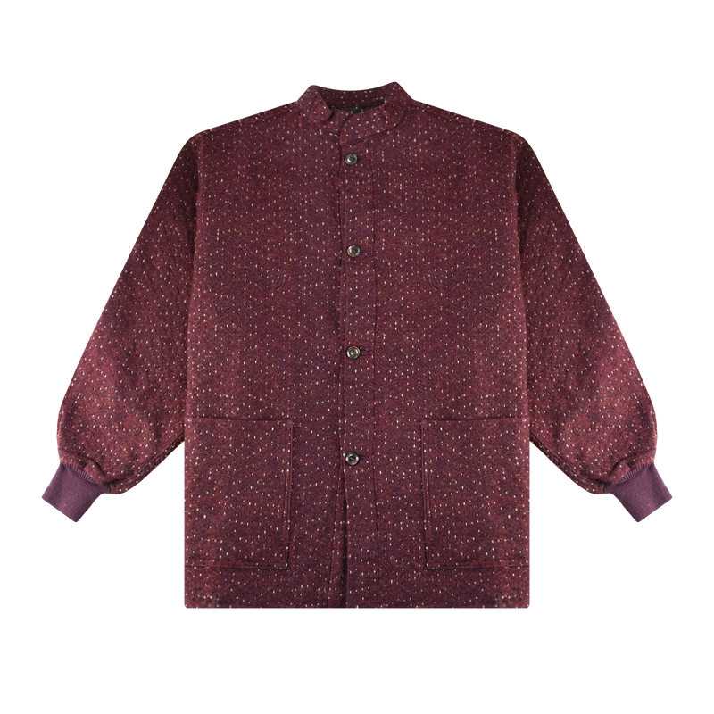 Needles S.C. Army Shirt 'Bordeaux'