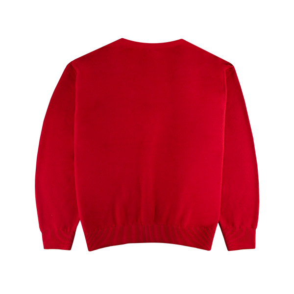 Needles V Neck Cardigan [Red]