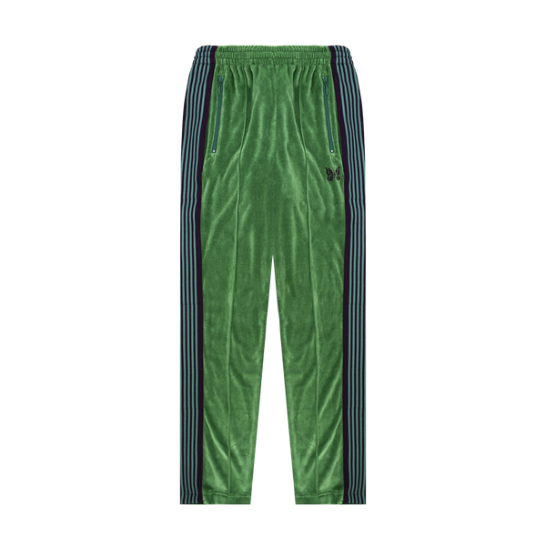Needles Velour Track Pant 'Green'