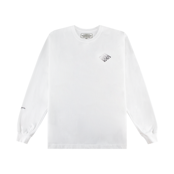 Neighborhood Crypt-1 Pullover [White]