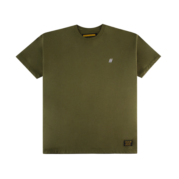 Neighborhood Mil-Squad S/S Crew [Olive Drab]
