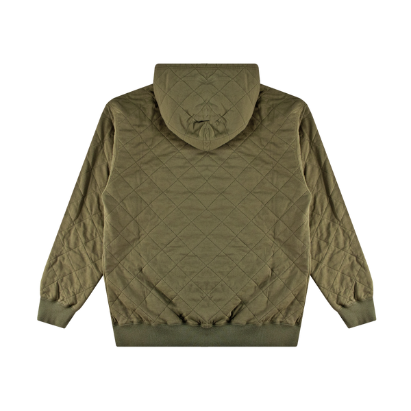 Neighborhood Quilt Hooded L/S 'Olive Drab'