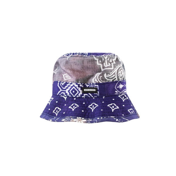 Neighborhood Quilted Bucket Hat [Navy]