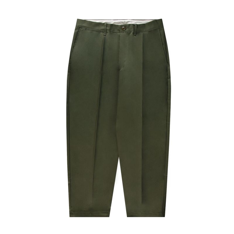 Neighborhood Tuck Pants [Olive Drab]