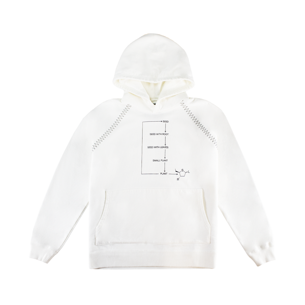 Neighborhood Bio Hooded Sweatshirt [White]