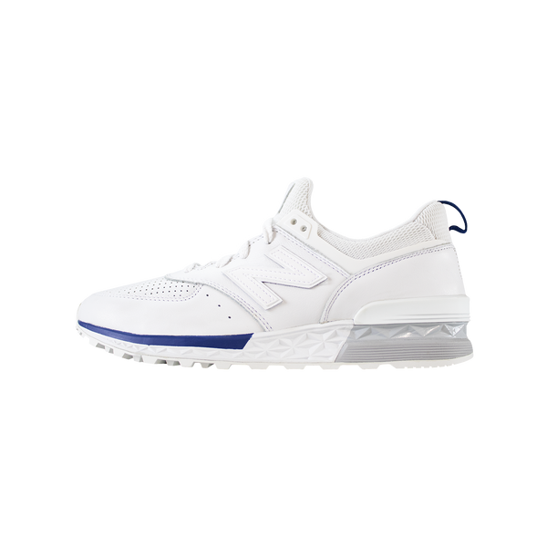 New Balance 574 Premium [White/Blue] MS574BLW