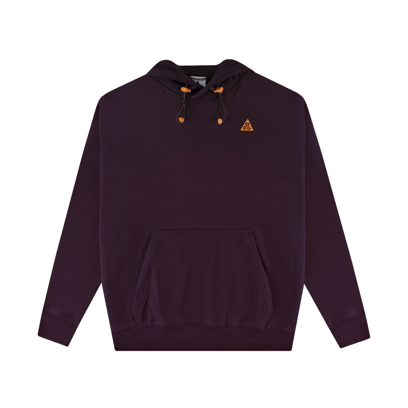 Nike ACG Hoodie 'Deep Burgundy/Clay Orange' [CW4490-643]