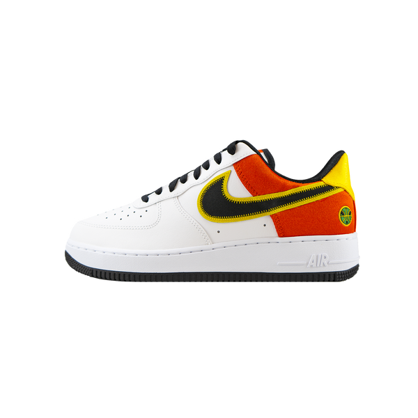 Nike Air Force 1 '07 LV8 'White/Black/Orange Flash'