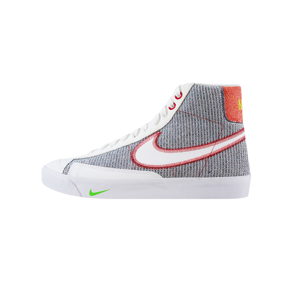 Nike Blazer Mid '77 'Grey/White/Sport Red/Electric Green' [CW5838-022]