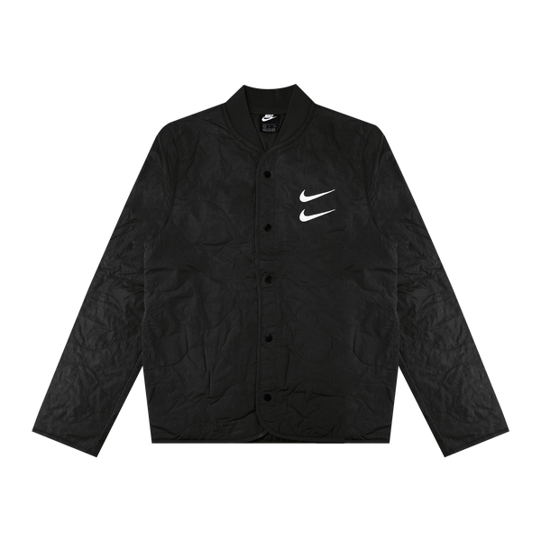 Nike Two Swoosh Jacket 'Black/White'