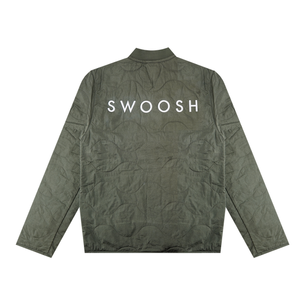 Nike Two Swoosh Jacket 'Twilight Marsh/White' [CU3922-380]