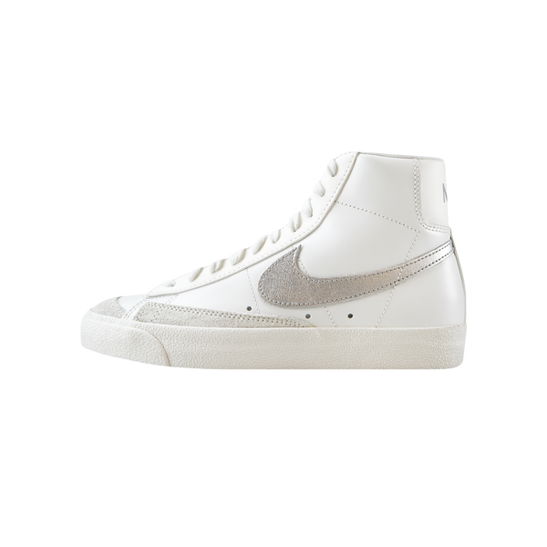 Nike Women's Blazer Mid '77 'Summit White/Metallic Silver' [CZ1055-112]