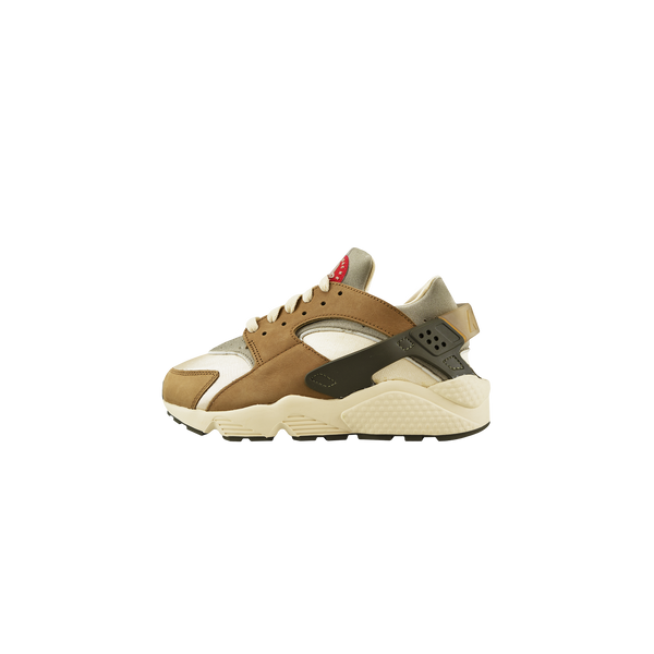 Nike x Stussy Air Huarache [Pre-School] 'Desert Oak/Reed/Light Straw'