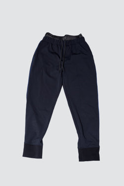 Black Public School Fjorke Sweatpants laying flat ground