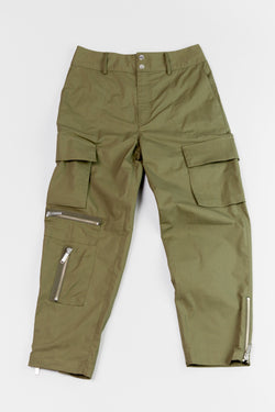 Lay flat image of Public School New York Galvez Utility Pant ROOTED Nashville