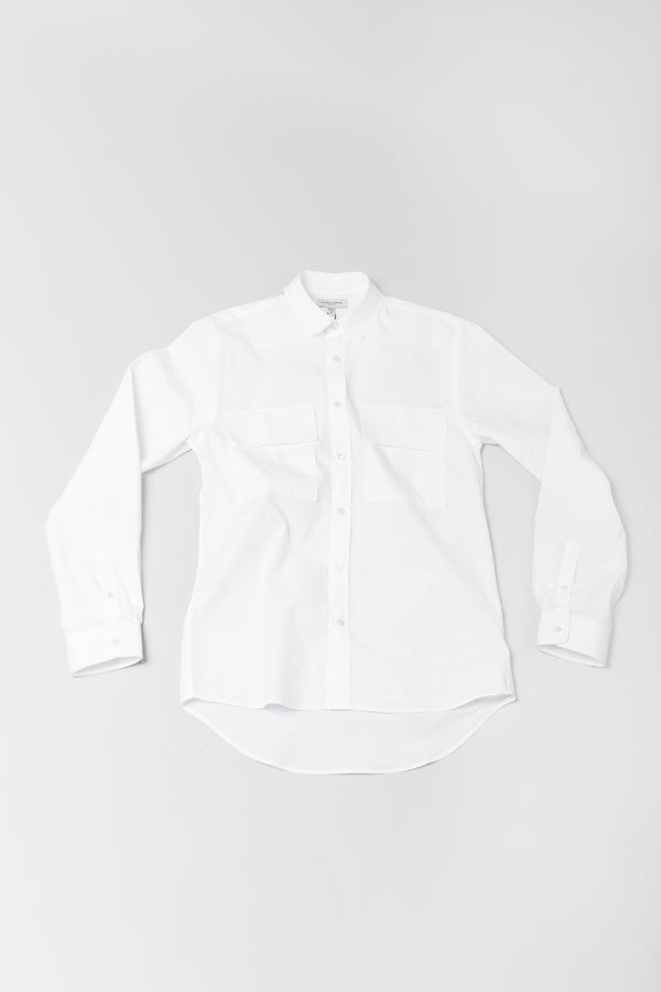 Public School White Craw Button-Up ROOTED Nashville