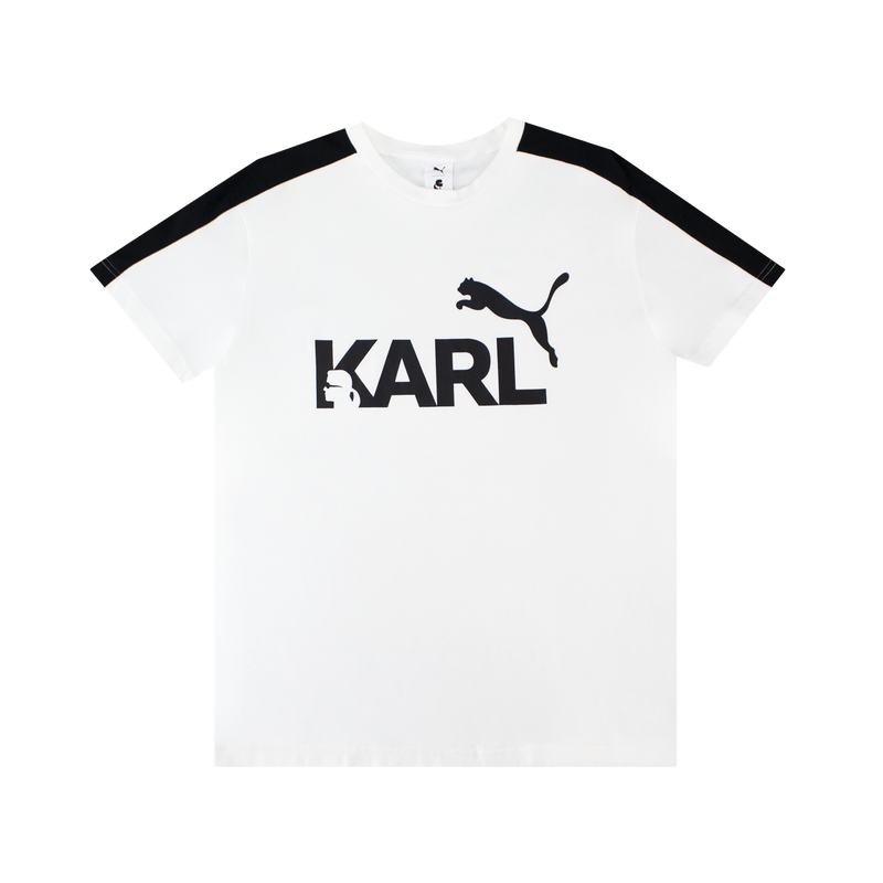 Puma x Karl Lagerfeld T-Shirt [White] | ROOTED - Nashville