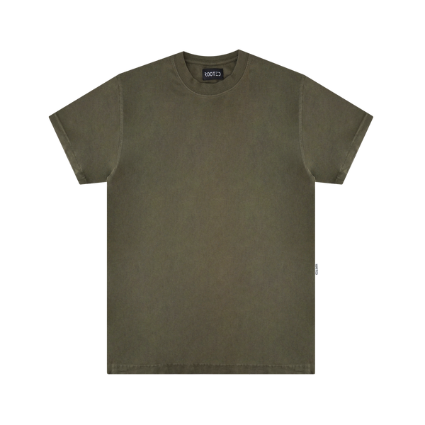 ROOTED Hermitage T-Shirt 'Olive'