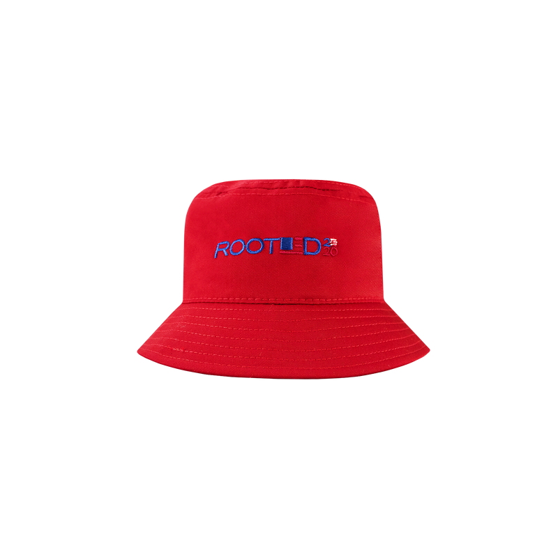 ROOTED VFC Bucket Hat 'Red'