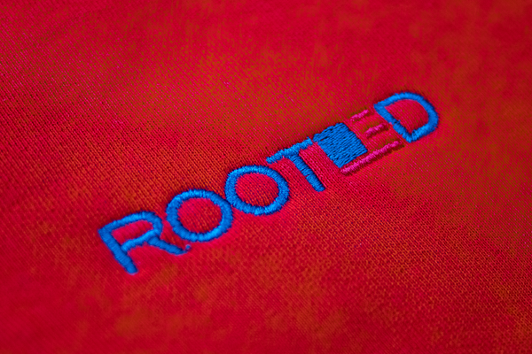 ROOTED VFC Sweatpants 'Red'
