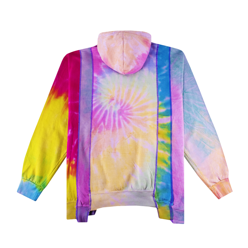 Rebuild by Needles 5 Cuts Hoodie - Tie Dye 'Assorted'