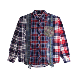 Rebuild by Needles 7 Cuts Flannel Shirt [Assorted]