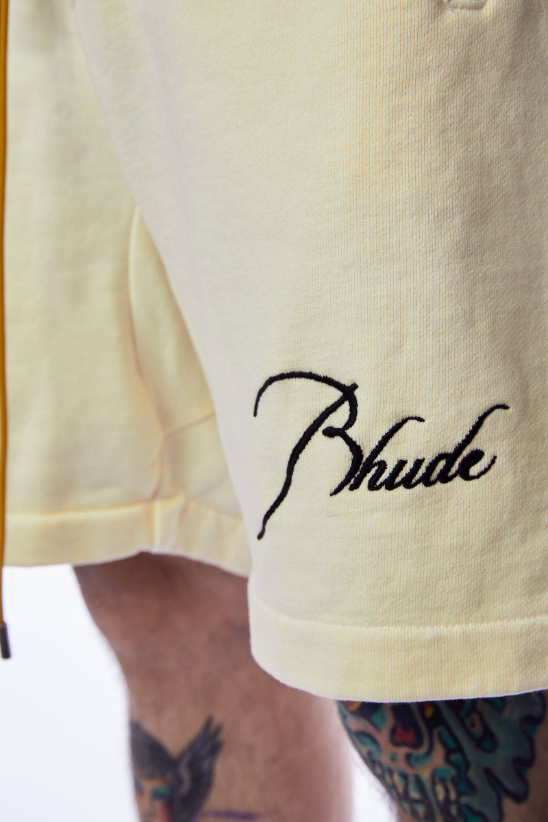 RHUDE Lounge Shorts 'Creme'