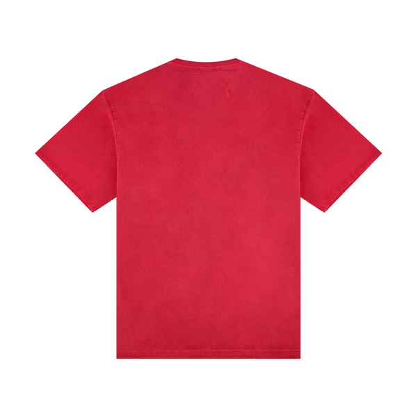 Rhude Logo Pocket T-Shirt [Red]