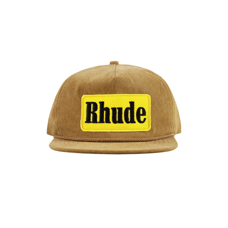 Rhude Mechanic 2 Hat [Brown]