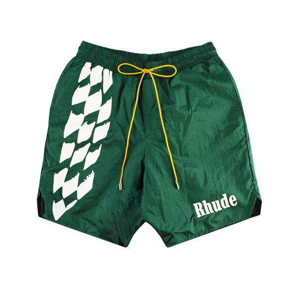 Rhude Warm-Up Short [Green]