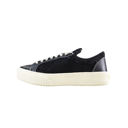 Rhude V1 Lo Leather [Black]