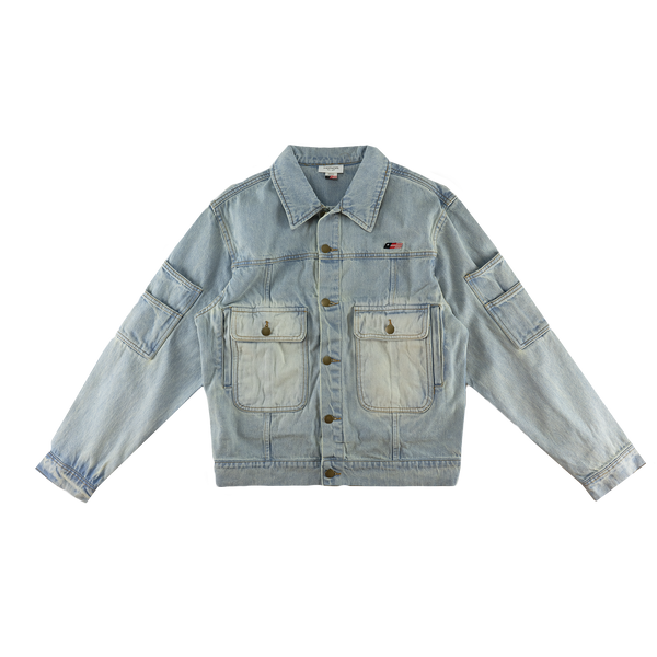 Honor The Gift Gridlock Denim Jacket [Light Indigo]