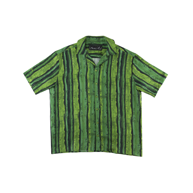 Martine Rose Hawaiian Shirt [Green]