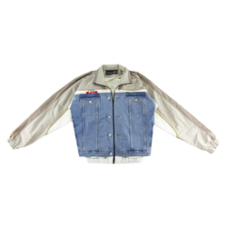 Martine Rose Hybrid Track Jacket [Light Denim]