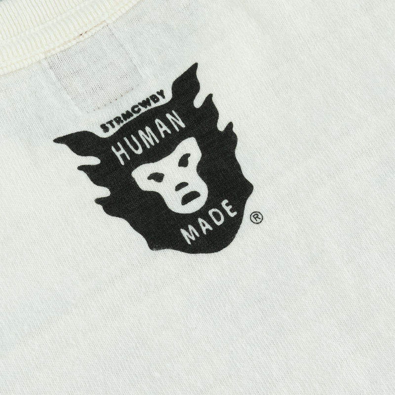 Human Made T-Shirt #1703 [White]