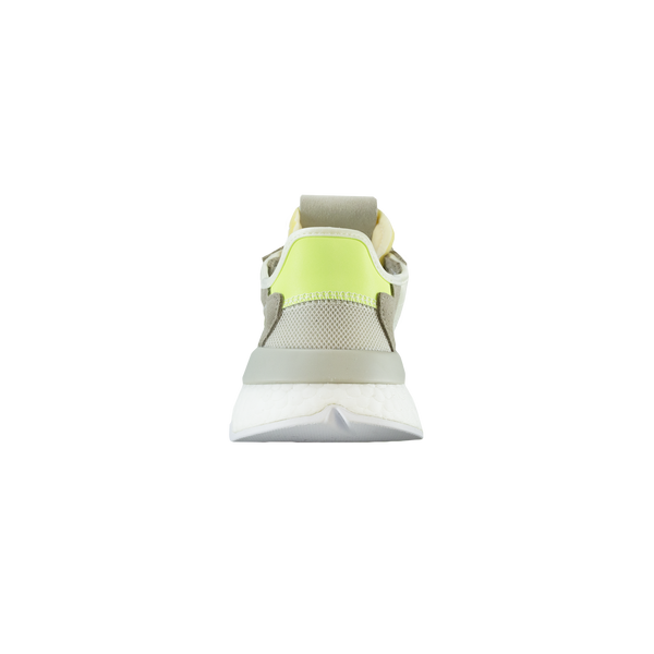 Adidas Nite Jogger Women's 'Off-White/Hi-Res Yellow' [CG6098]