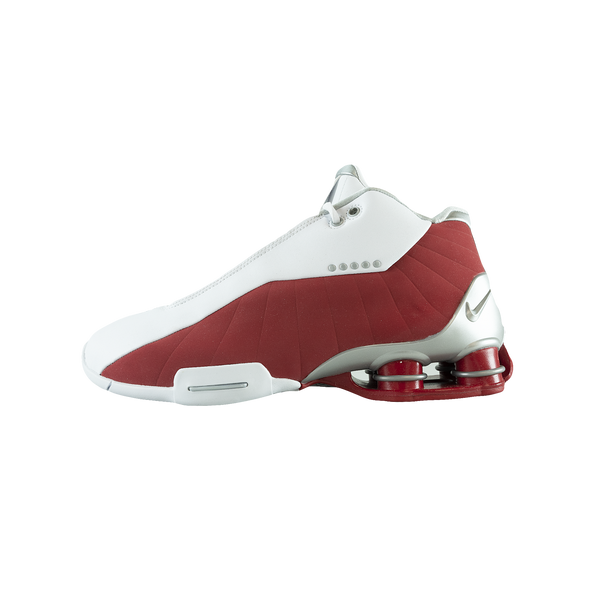 Nike Shox BB4 'Metallic Silver/Varsity Red' [AT7843-101]