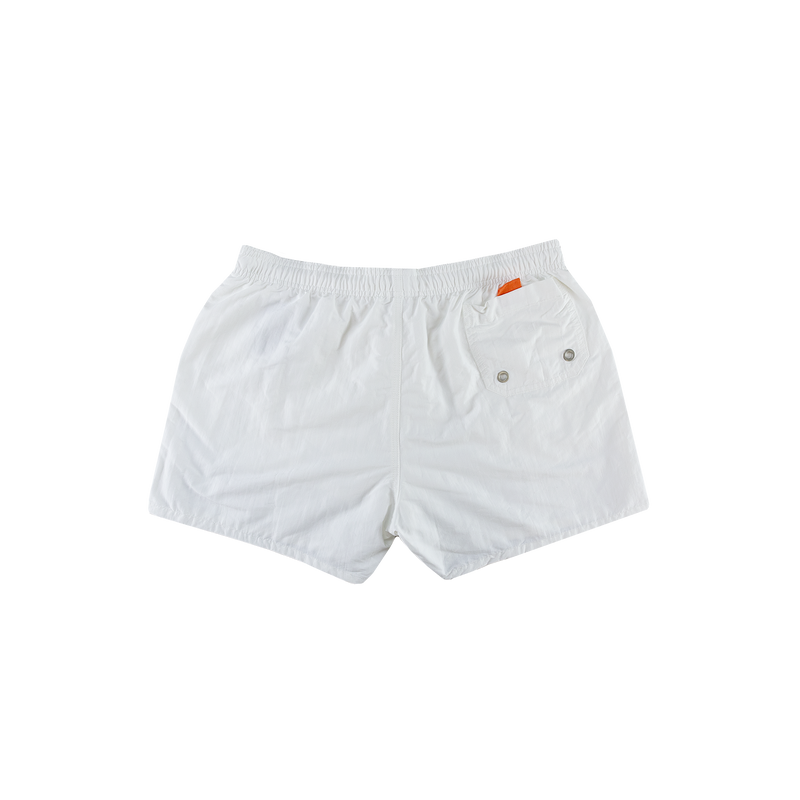 Heron Preston Reflective Swim Shorts [White]