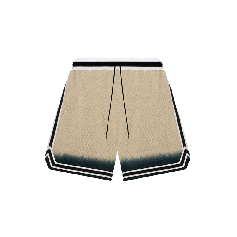 John Elliott Dip Dye Basketball Shorts [Gold/Black]